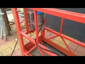 ZLP 630 Aerial Painting Suspended Work Platform voor Windows Cleaning